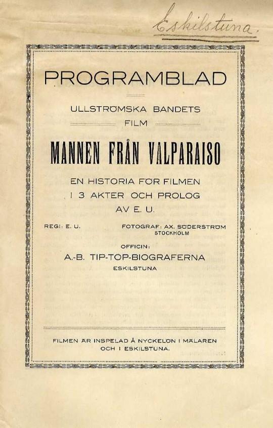 Mannen från Valpariso (1919)