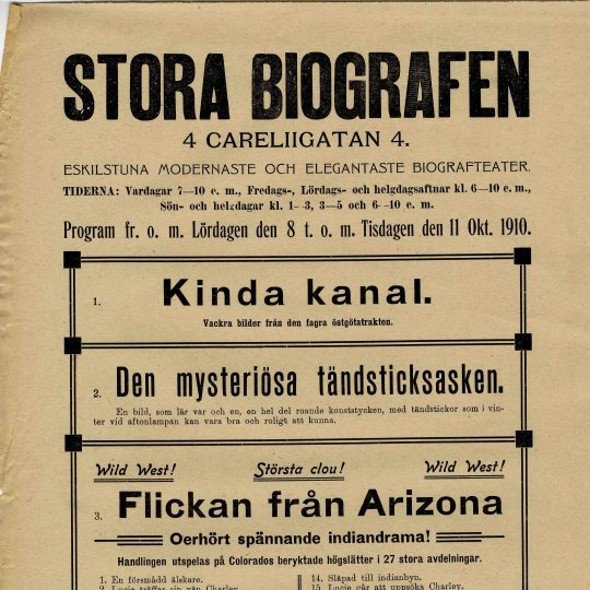 Lehman som stadsbud (1910) [Se bild ovan.]
