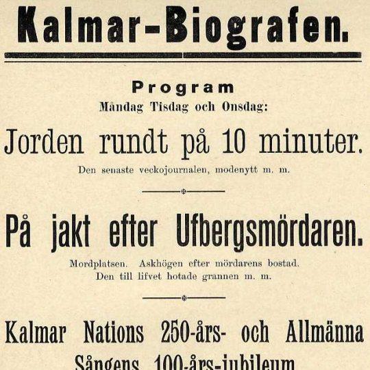 Lehman som pepparkaksgubbe (1913)